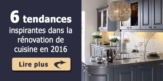 6 tendances inspirantes dans la r novation de cuisine en 2016. Black Bedroom Furniture Sets. Home Design Ideas